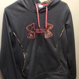 Camo Under Armour hoodie